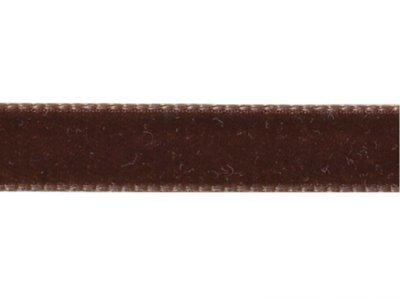 Samtband 5mm braun