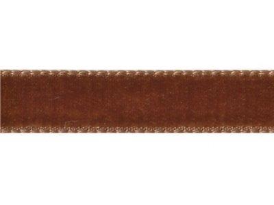 Samtband 9mm tabac