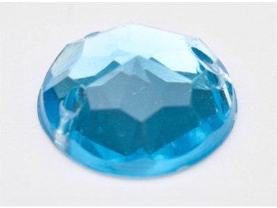 Acryl-Schmucksteine blau zum Aufnähen