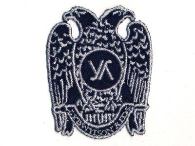 Applikation Wappen Adler dunkelblau z. Aufbügeln