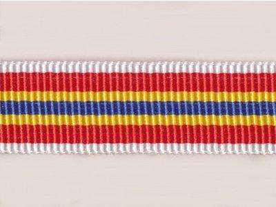 Ripsband 18mm weiß