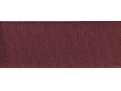 Satin Schrägband ungefalzt 30mm leicht glänzend bordeaux