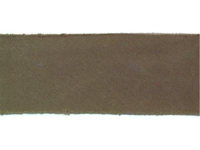Satin Schrägband ungefalzt 35mm leicht glänzend dunkle