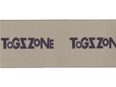 "# Webband 30mm ""Togzzone"" beige"
