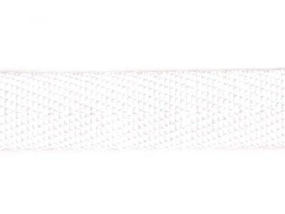Stoßband 20mm uni weiß