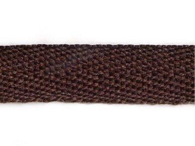 Stoßband 15mm uni braun
