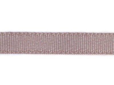 Satin Dekoband 5mm uni beige-rosa
