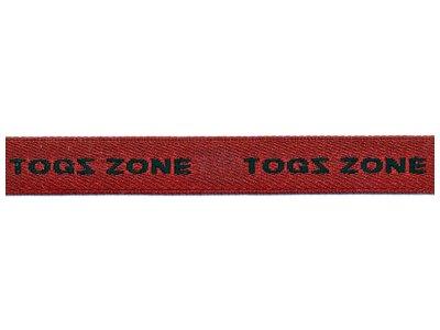"""# Webband """"Togszone"""" weinrot"""