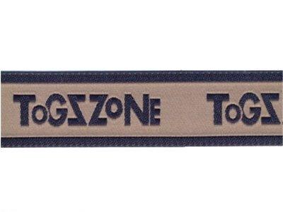 """# Webband """"Togszone"""" beige"""