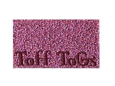Webetikett 5er-Set pink glitzernd
