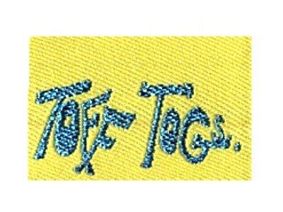 Webetikett 5er-Set gelb