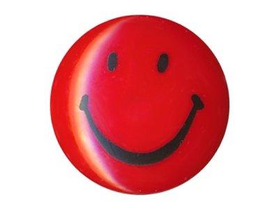 Knopf Smile 15mm rot