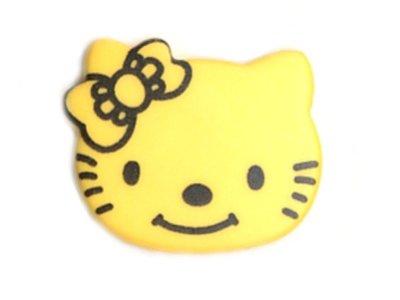 Knopf 18 mm Kitty gelb