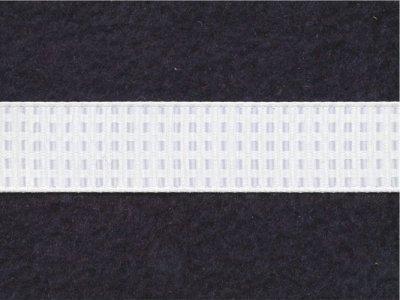 Riley Blake Ripsband Vichy Karo wollweiß 16mm