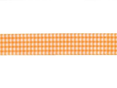 Riley Blake Ripsband Vichy Karo weiß 16mm