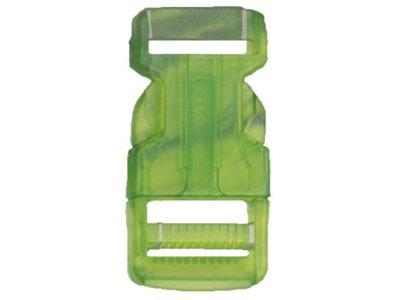 Rucksackschließe 25mm hellgrün