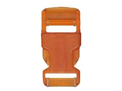 Rucksackschließe 25mm orange