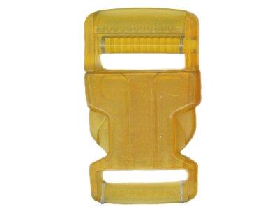 Rucksackschließe 40mm gelb