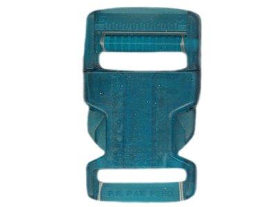 Rucksackschließe 40mm blau