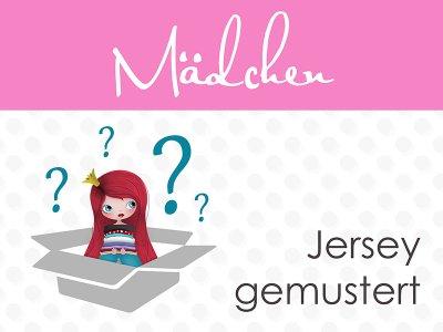 Überraschungspäckchen Mädchen Jersey 4 m mit unterschiedlichen Designs