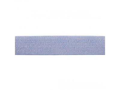 Gummiband weich ca. 40mm - meliert denim jeans
