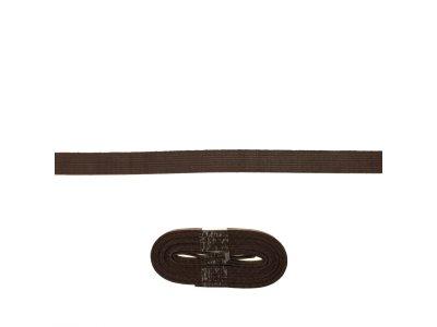 Schrägband/Einfassband Baumwolle gefalzt 20 mm x 3 m Coupon - uni mokka
