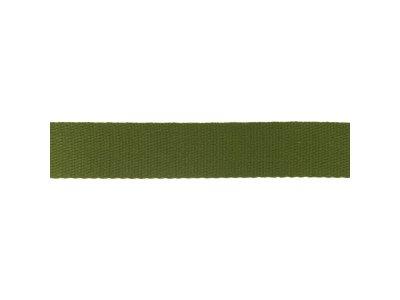 Gurtband ca. 40 mm - uni olive