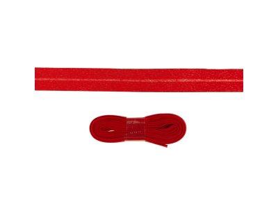 Schrägband/Einfassband Baumwolle gefalzt 20 mm - 3 m Coupon - uni rot