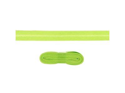 Schrägband/Einfassband Baumwolle gefalzt 20 mm - 3 m Coupon - uni lime