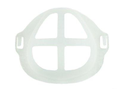 Wiederverwendbare 3D-Abstandshalter Behelfsmaske - transparent