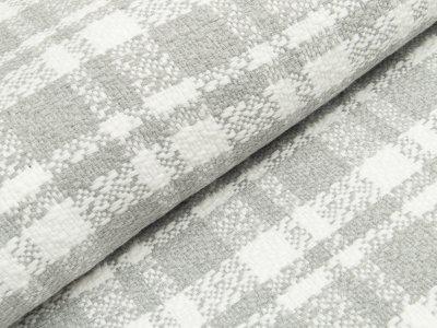Pancho Hilco - Karomuster - grau/weiß