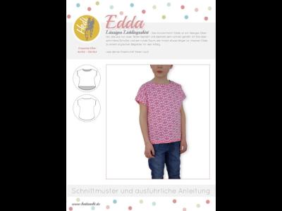 Papierschnittmuster Hedi - T-Shirt Edda - Kinder