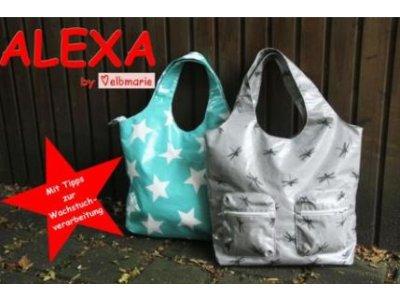 Papierschnittmuster elbmarie Shopper- oder Businesstasche ALEXA - Tasche/Shopper