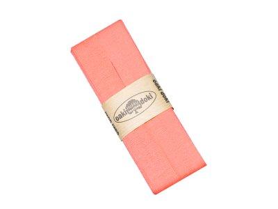 Jersey Schrägband Oaki doki gefalzt 20 mm x 3 m  - altrosa