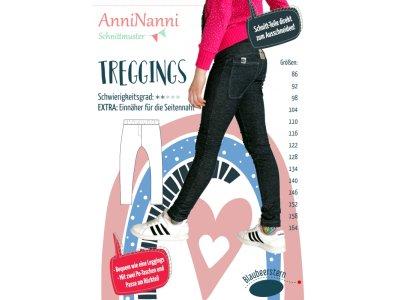 Papierschnittmuster Blaubeerstern AnniNanni TREGGINS - Mädchen