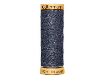 Gütermann Jeansfaden 100m Fb.5154 blau/weiß