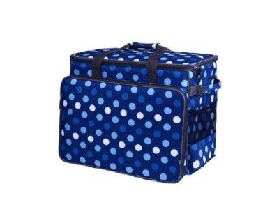 BabySnap Nähmaschinentasche XL Multicolor  50x26x38cm blau