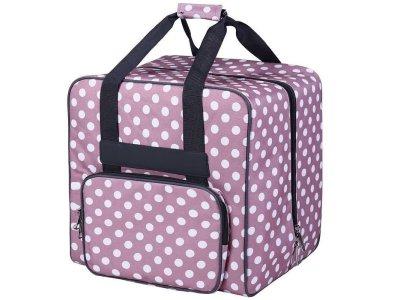 BabySnap Overlocktasche dotty 39 x 32 x 36 cm - rosa