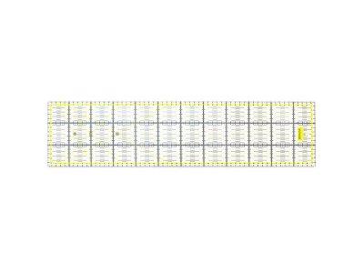 Quilt Lineal 60x15cm - transparent/gelb