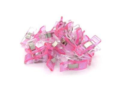 BabySnap 20 Wonder Clips - pink
