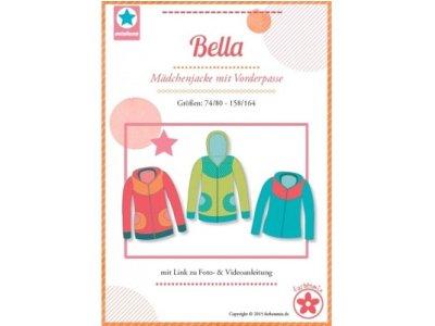 Schnittmuster  Bella Mädchenjacke mit Vorderpasse