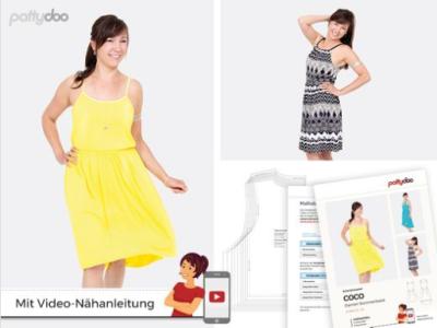 Papierschnittmuster pattydoo Sommerkleid COCO - Damen