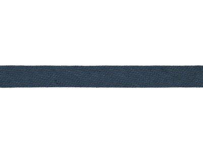 Jeans Schrägband Baumwolle gefalzt - 20 mm - marine