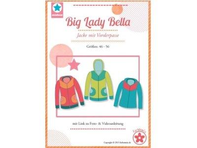 Schnittmuster Big Lady Bella Jacke mit Vorderpasse