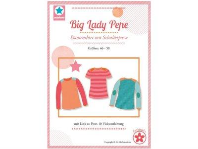 Schnittmuster Big Lady Pepe Damenshirt mit Schulterpasse