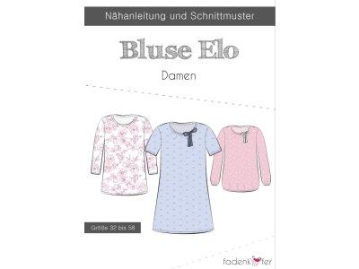 Papier-Schnittmuster Fadenkäfer - Bluse Elo - Damen
