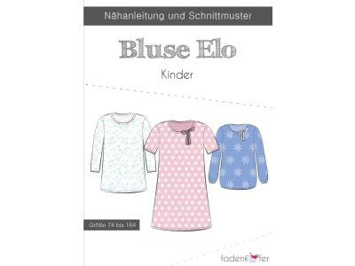 Papier-Schnittmuster Fadenkäfer - Bluse Elo - Kinder