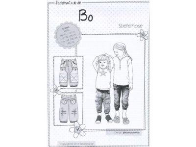 Schnittmuster BO Stiefelhose Farbenmix