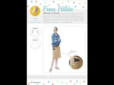 Papierschnittmuster Hedi - Frau Hilda - Damen