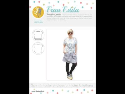 Papierschnittmuster Hedi - Shirt Frau Edda - Damen